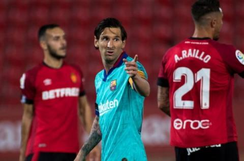 Barcelona's Messi Sets New Record In 4-0 Win Against Mallorca
